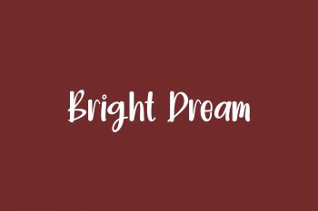 Bright Dream Free Font