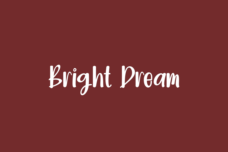 Bright Dream Free Font