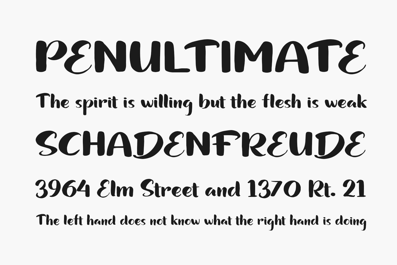 Bundhers Free Font
