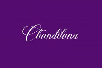 Chandiluna Free Font