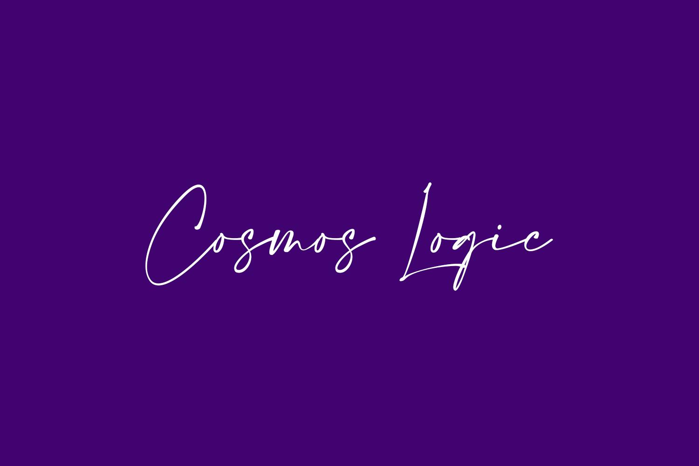Cosmos Logic Free Font