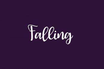 Falling Free Font