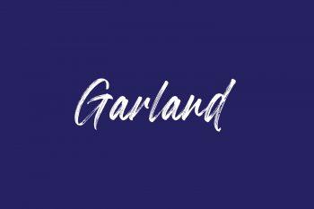 Garland Free Font