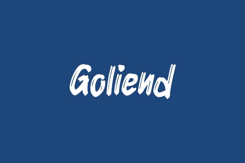Goliend Free Font