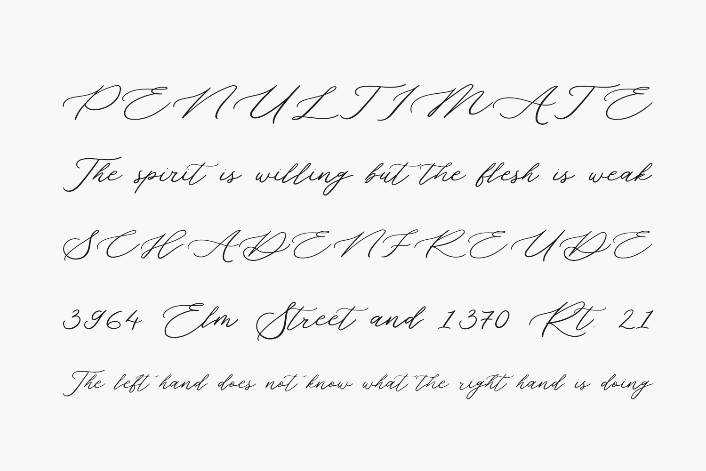 Grand Amoura Free Font