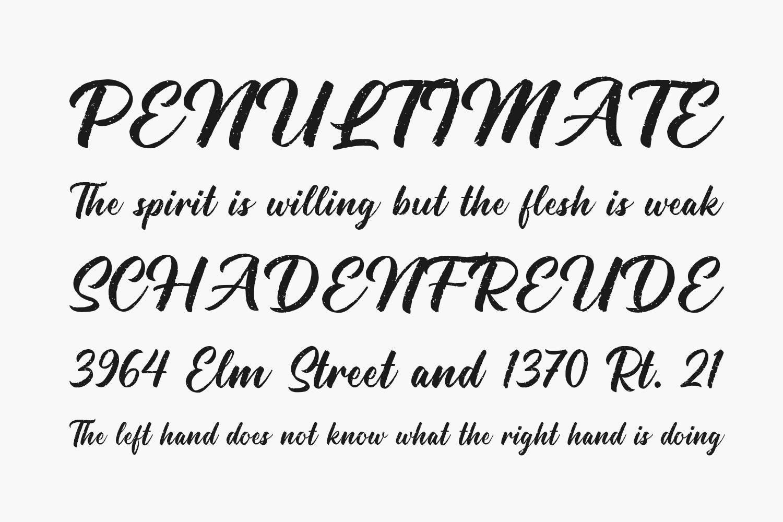Hallington Free Font
