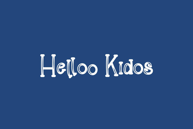 Helloo Kidos Free Font