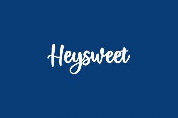 Heysweet Free Font