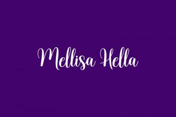 Mellisa Hella Free Font