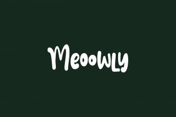 Meoowly Free Font