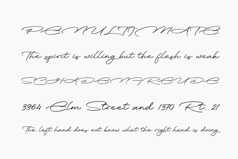 Monday Routines Free Font