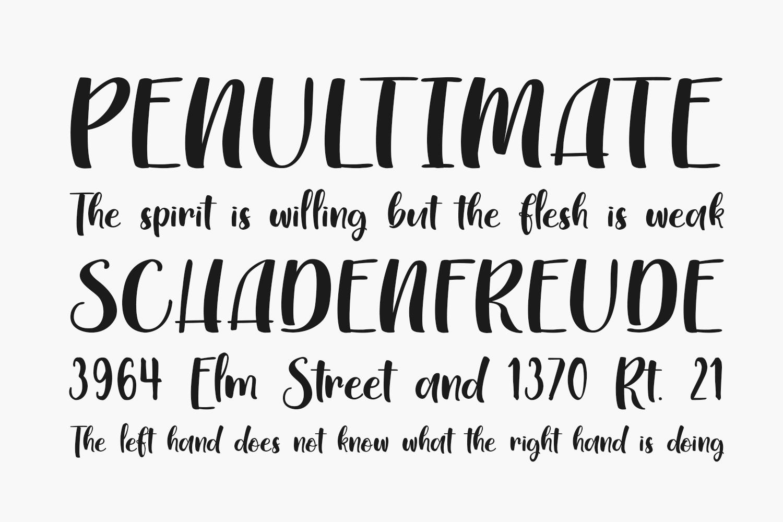 Myrlissa Free Font