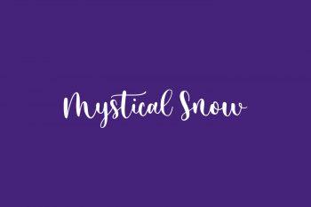 Mystical Snow Free Font