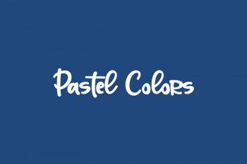 Pastel Colors Free Font