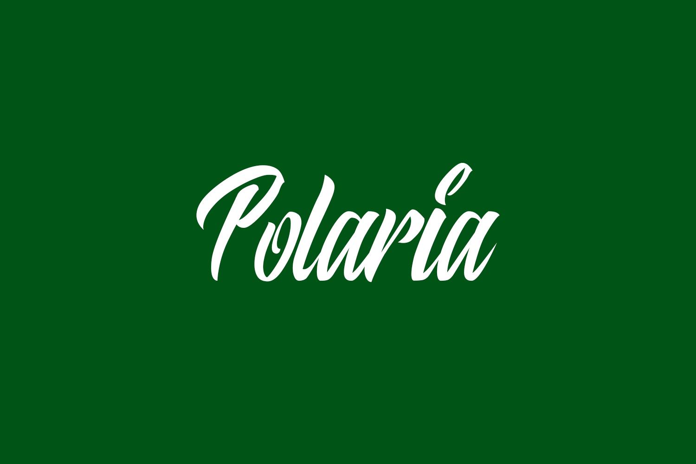 Polaria Free Font