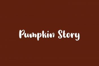 Pumpkin Story Free Font