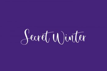 Secret Winter Free Font