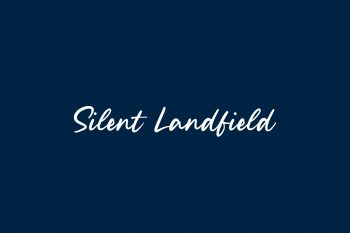 Silent Landfield Free Font