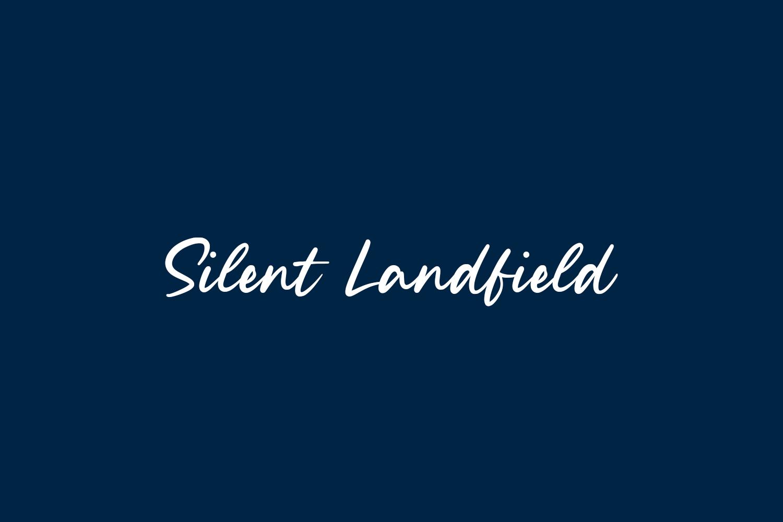 Silent Landfield Free Font