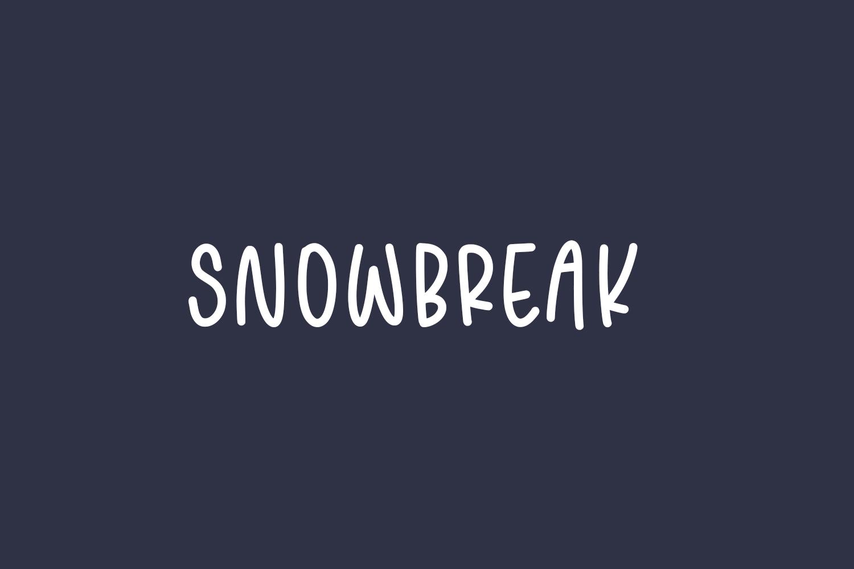 Snowbreak Free Font