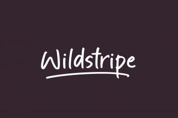 Wildstripe Free Font