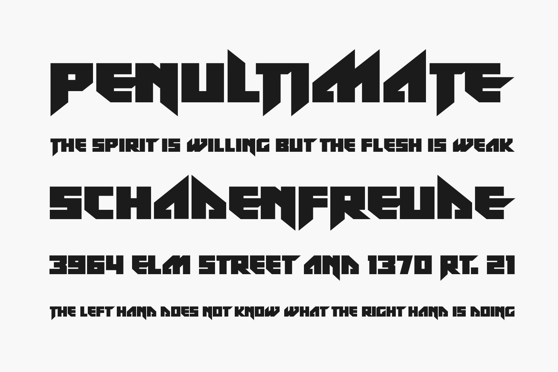 Zef Rave Free Font