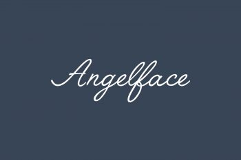 Angelface Free Font