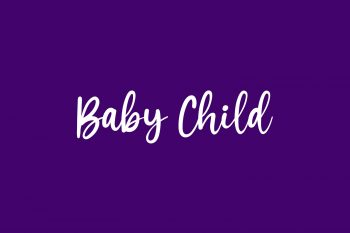 Baby Child Free Font
