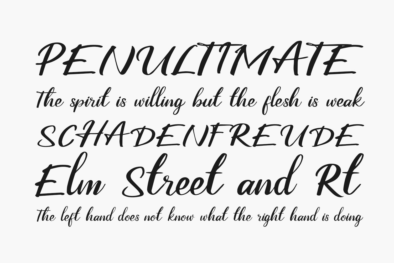 Ballano Free Font