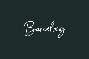 Barcelony Free Font