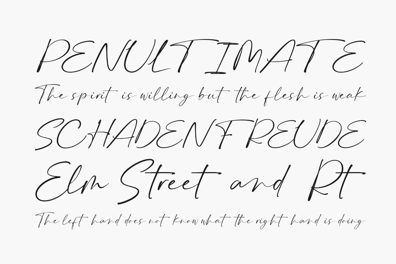 Bierang Free Font