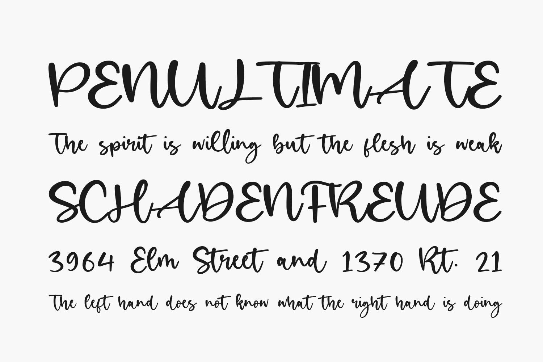 Birdlove Free Font