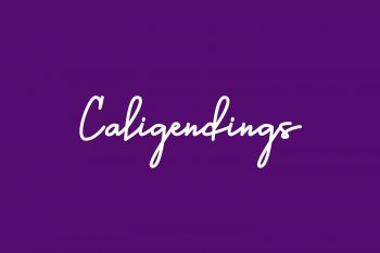 Caligendings Free Font