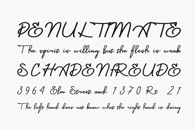Caligendings Free Font