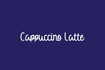 Cappuccino Latte Free Font