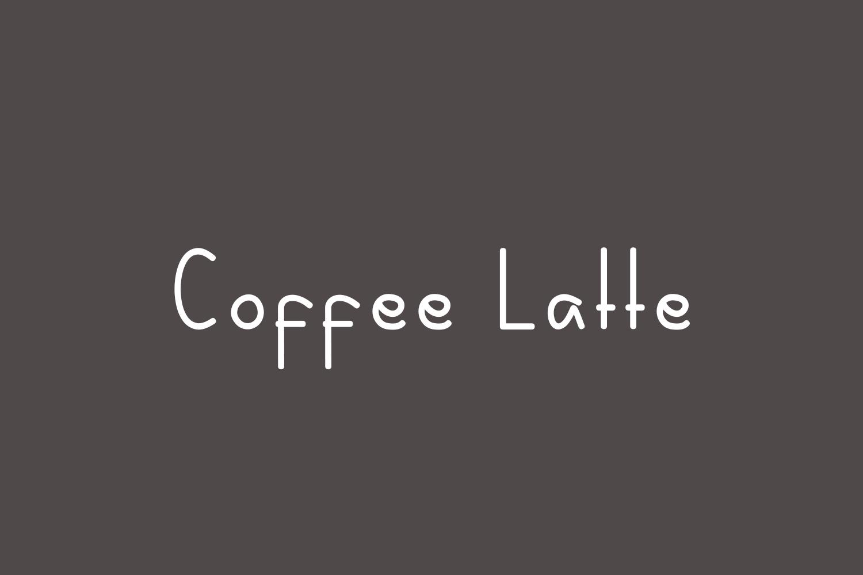 Coffee Latte Free Font