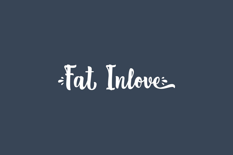 Fat Inlove Free Font