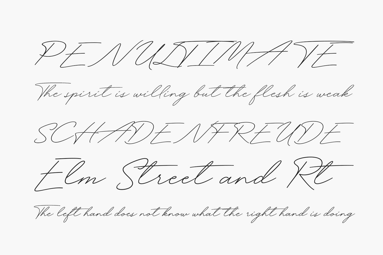 Funky Signature Free Font