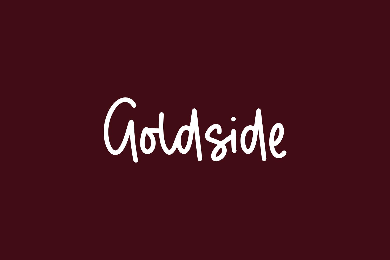 Goldside Free Font