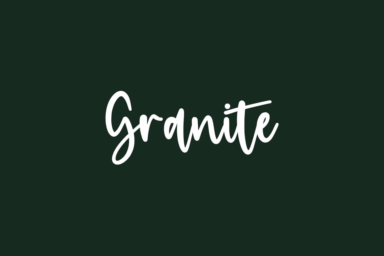 Granite Free Font