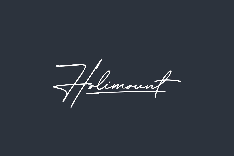 Holimount Free Font