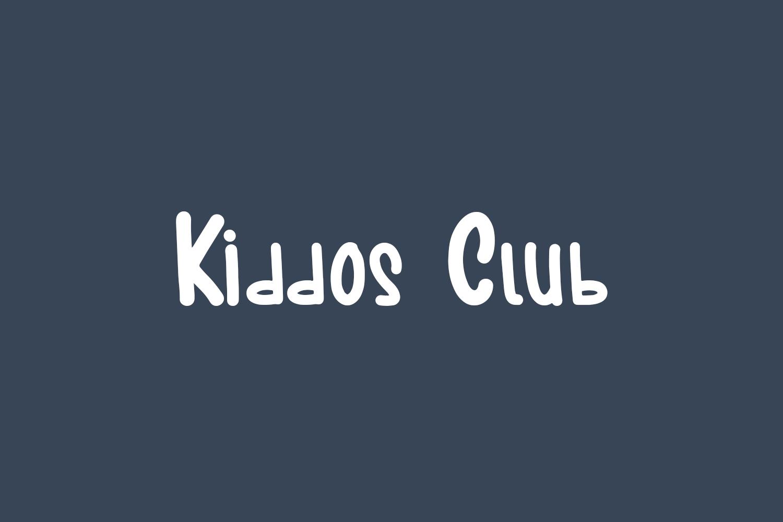 Kiddos Club Free Font