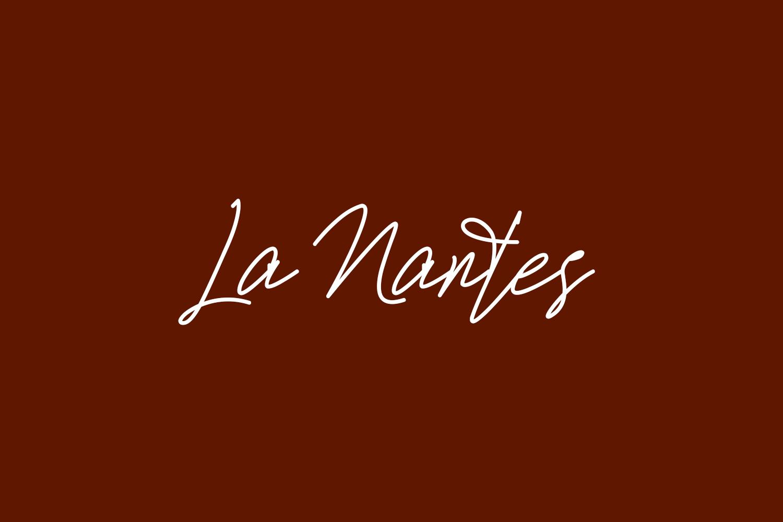 La Nantes Free Font