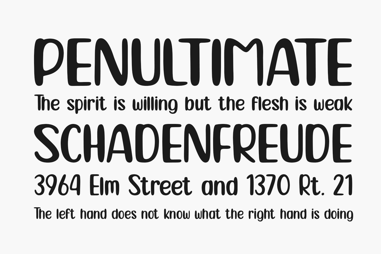Locanita Free Font