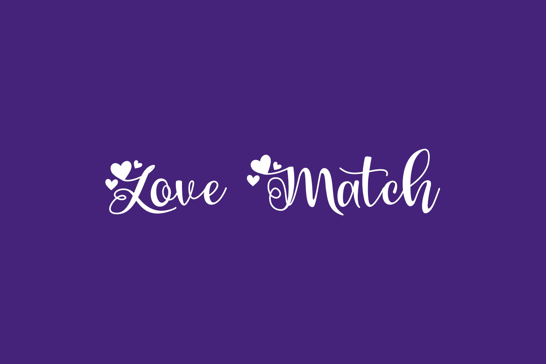 Love Match Free Font