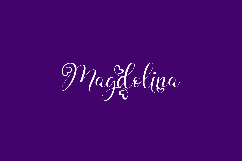 Magdolina Free Font