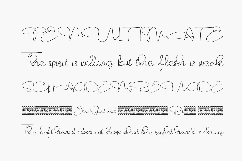 Marrline Free Font