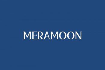 Meramoon Free Font