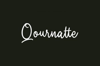 Qournatte Free Font