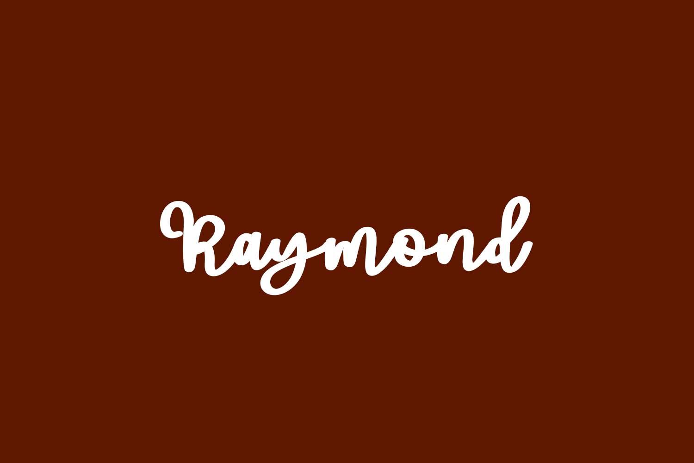Raymond Free Font